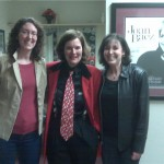 Laurie and Barb with Paula Poundstone (center)