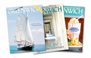 Greenwich Magazine covers